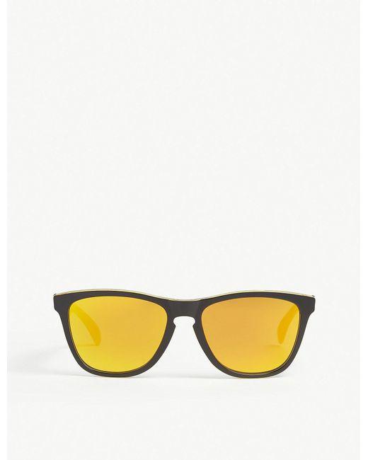 Oakley - Black Oo9013 Square-frame Sunglasses for Men - Lyst