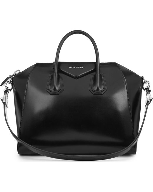 Givenchy - Black Antigona Medium Leather Tote - Lyst