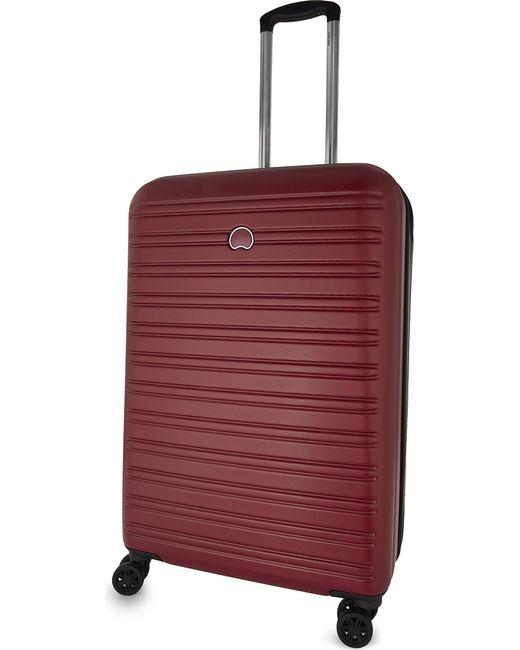 Delsey   Red Segur Four-wheel Spinner Suitcase 70cm for Men   Lyst