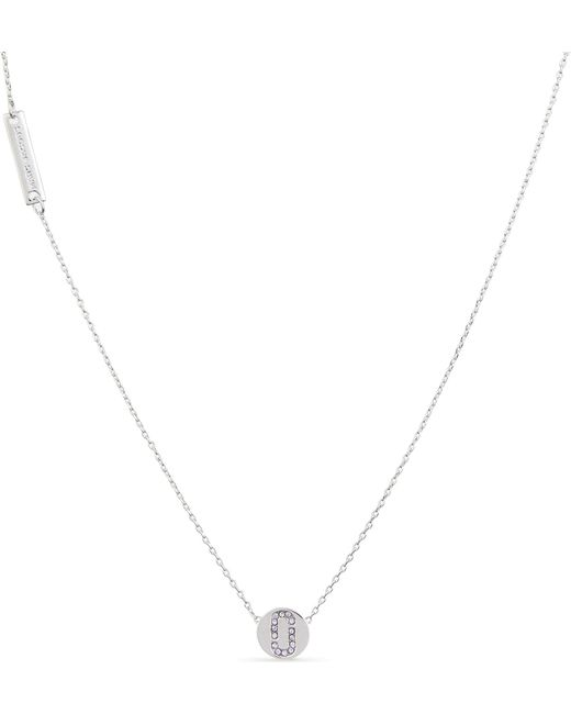 Marc Jacobs - Metallic Double J Necklace - Lyst