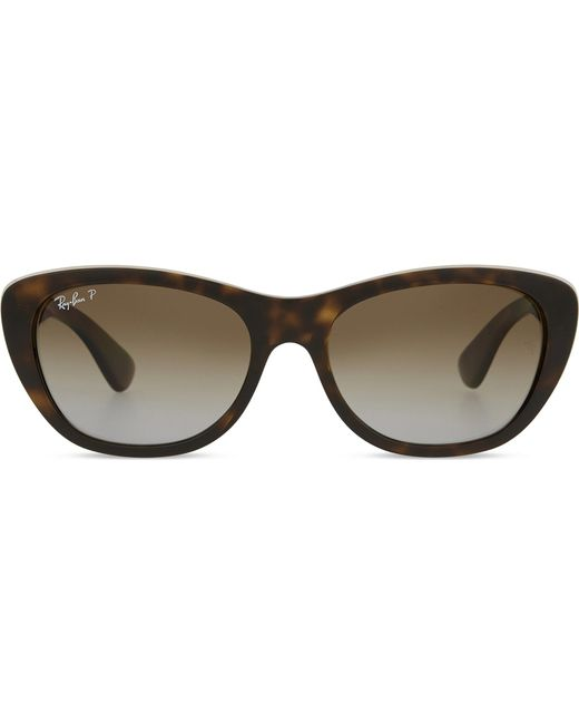 Ray-Ban - Brown Rb4227 Square Havana Sunglasses for Men - Lyst