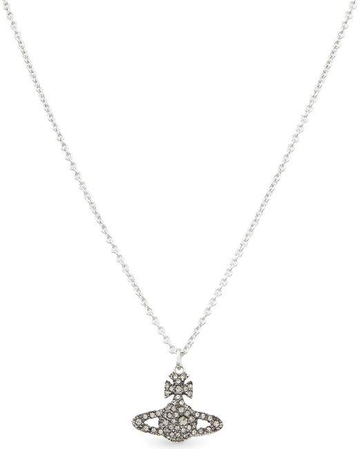 Vivienne Westwood | Metallic Orb Sterling Silver Necklace | Lyst