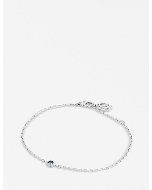 Cartier - Blue Saphirs Légers De 18ct White-gold And Sapphire Bracelet - Lyst