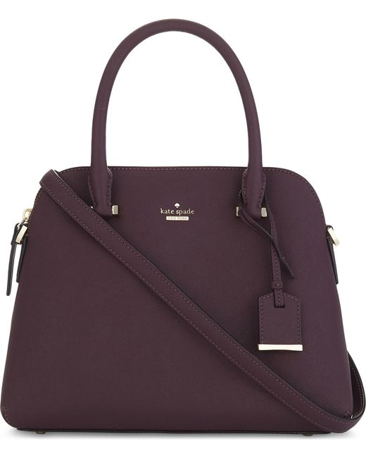 Kate Spade | Purple Cameron Street Maise Leather Shoulder Bag | Lyst