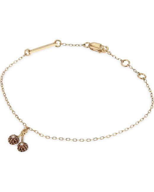 Marc Jacobs | Metallic Cherries Friendship Bracelet | Lyst