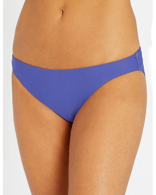 Calvin Klein - Blue Core Solids Classic Bikini Bottoms - Lyst