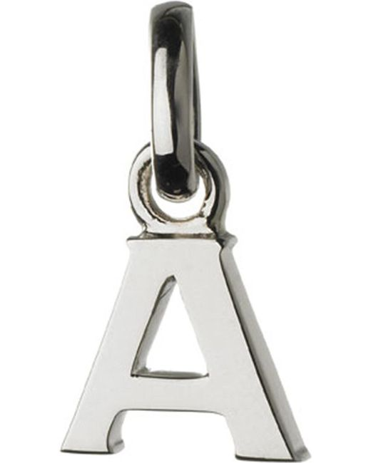 Links of London | Metallic Alphabet A Sterling Silver Charm | Lyst