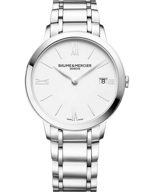 Baume & Mercier - Metallic M0a10356 My Classima Stainless Steel Watch for Men - Lyst
