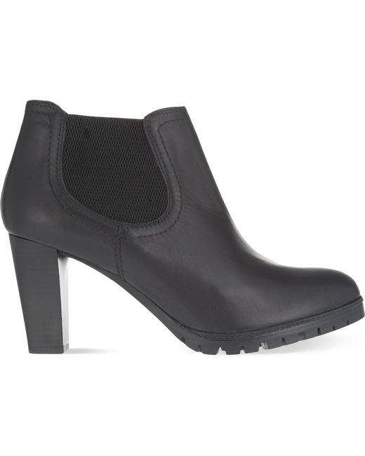 Carvela Kurt Geiger - Black Skittle Leather Ankle Boots - Lyst