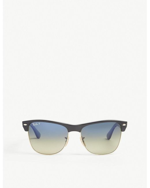 Ray-Ban - Black Rb4175 Square-frame Sunglasses - Lyst