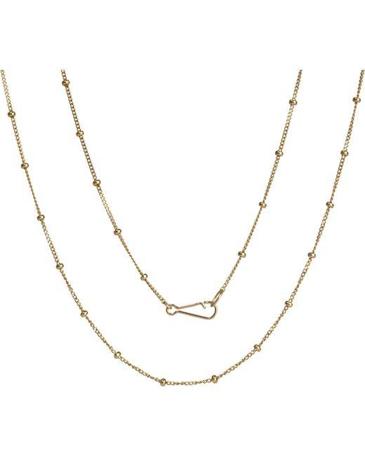 Annoushka | Classic Saturn 18ct Yellow-gold Long Chain | Lyst