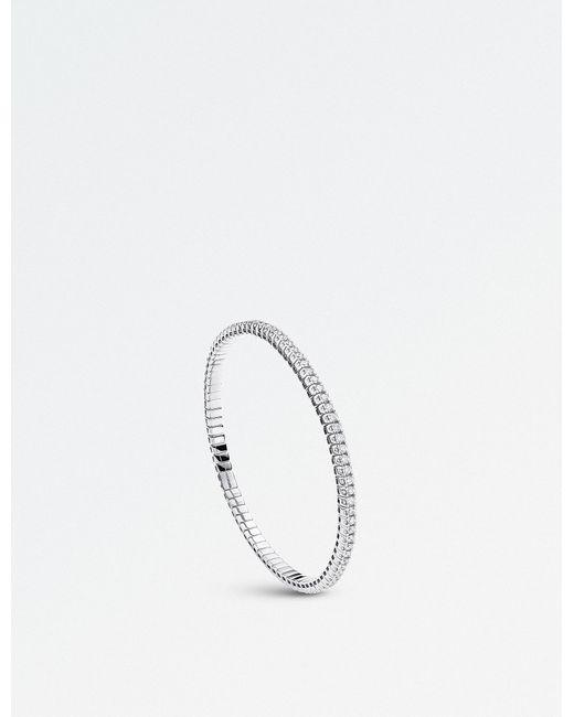 BUCHERER JEWELLERY - Metallic Classics 18ct Rose-gold Diamond Bracelet - Lyst