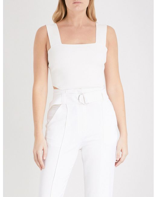 A.L.C. Sleeveless Woven Top Clearance Fashion Style Visit New Cheap Price Huge Surprise For Sale Sale Low Shipping rSIIbgfl