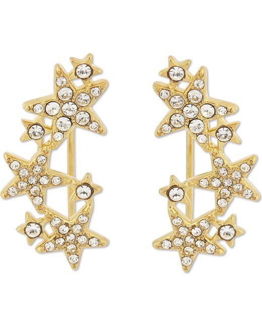 Kate Spade - Metallic Seeing Stars Drop Star Earrings - Lyst