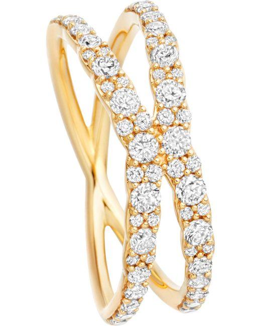 Astley Clarke | Metallic Interstellar 14ct Yellow-gold Diamond Fusion Ring | Lyst