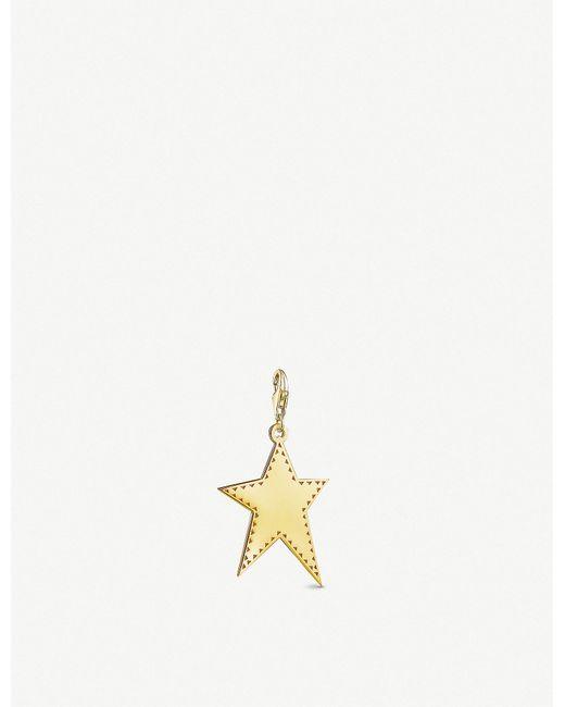 Thomas Sabo - Irregular Star 18ct Yellow-gold Charm - Lyst