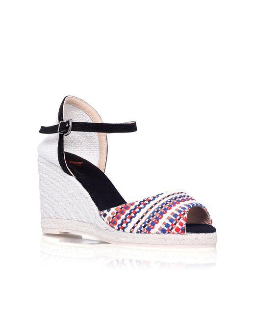 Castaner | Multicolor Ava H8 High Wedge Heel Sandals | Lyst