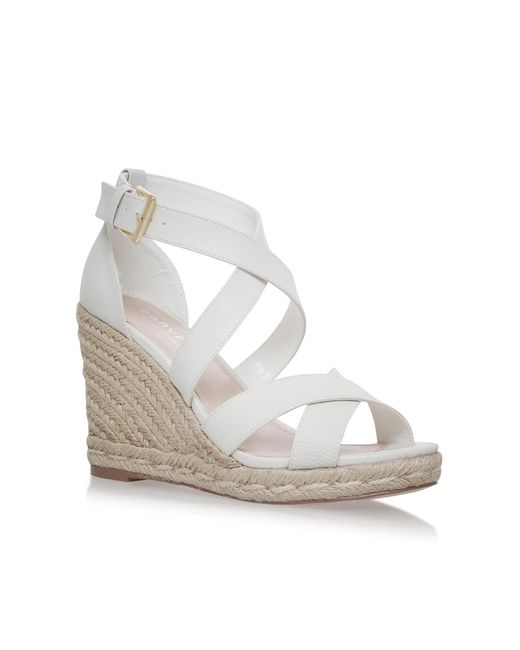 Carvela Kurt Geiger | White Smashing Sandals | Lyst