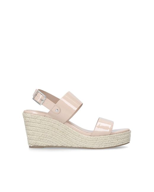 Tan 'Bless' mid heel wedge sandals popular for sale best place to buy ZBl7Eu9lkR