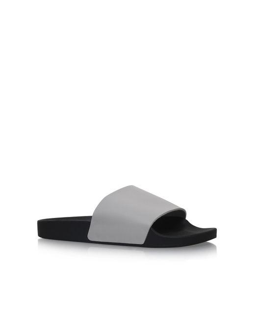 KG by Kurt Geiger   Gray Lydd Flat Slip On Sandals for Men   Lyst