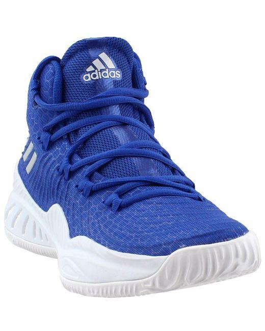 wholesale dealer c03b7 b64b9 Adidas - Blue Sm Crazy Explosive 2017 Nbancaa for Men - Lyst ...