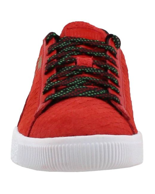 b294cf4459c8 Lyst - PUMA Clyde Gcc in Red for Men - Save 67%