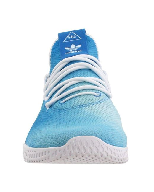 f20bcd1cd4e40 ... Adidas - Blue Pharrell Williams Hu Holi Tennis Hu for Men - Lyst ...