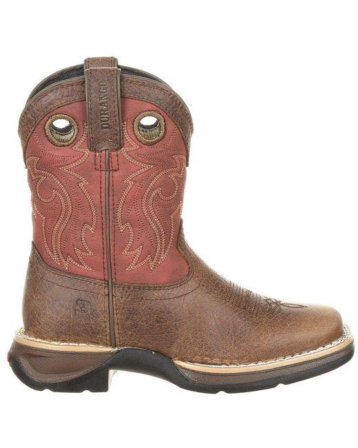 2a934449408 Lyst - Durango Lil' Rebel By Little Kids' Waterproof Western Saddle ...