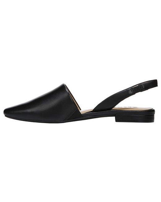 6a7aa643a84 Lyst - Naturalizer Kerrie Slingback Flat in Black - Save 14%