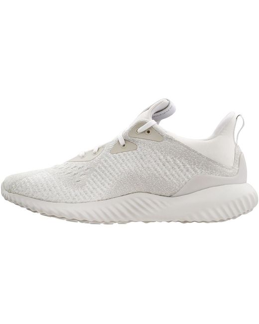 207bbc26a ... Adidas - White Alphabounce Em for Men - Lyst ...