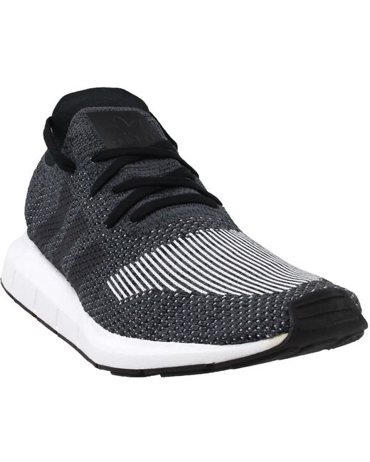 2cd91cae2bba Adidas - Black Swift Run Pk for Men - Lyst ...