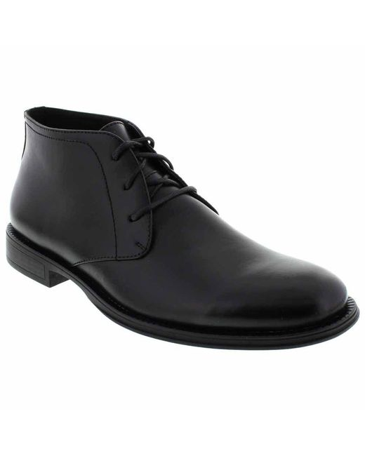 Deer Stags - Black 'mean' Leather Chukka Boot for Men - Lyst