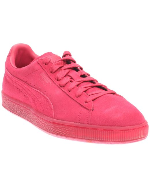 PUMA - Red Suede Classic Ice Mix for Men - Lyst