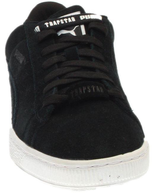 quality design 9e949 54b58 Men's Black Suede X Trapstar