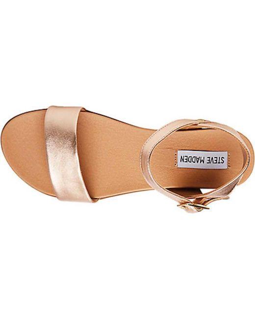 f129b6e0270 ... Steve Madden - Multicolor Dina Ankle Strap Sandal - Lyst