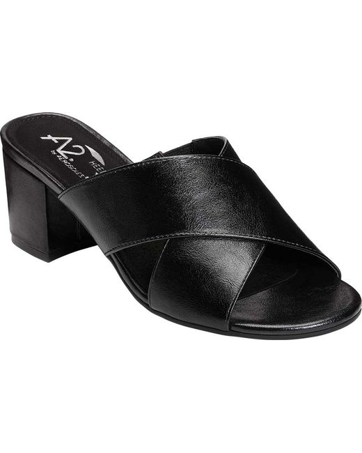 A2 By Aerosoles - Black Midday Slide - Lyst