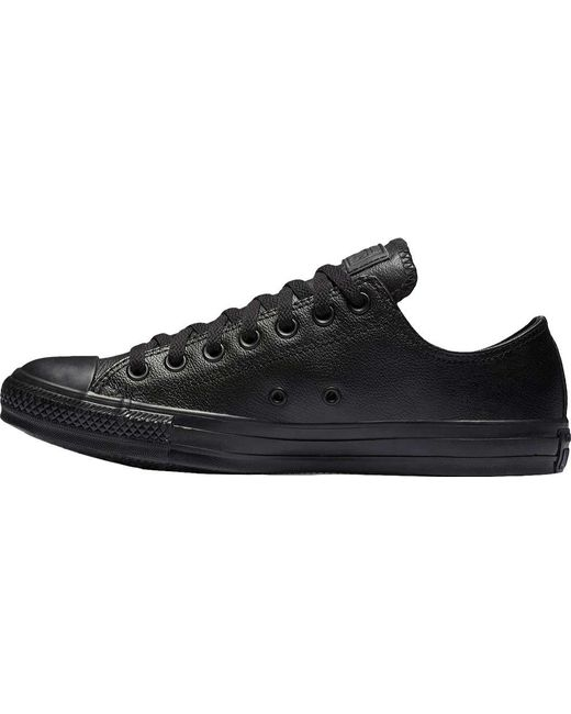 c0f35c5f9303 ... Converse - Black Chuck Taylor All Star Low Leather Sneaker for Men -  Lyst ...