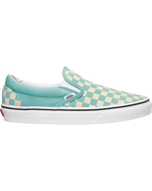 968ac5304b90 Lyst - Vans Ua Classic Slip On Checkerboard in Blue for Men - Save 29%