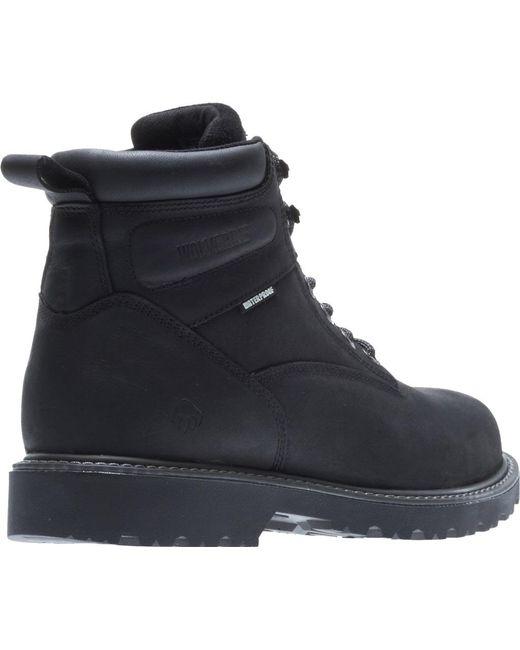 db6bd9e3149 Men's Black Floorhand Steel -toe Boot