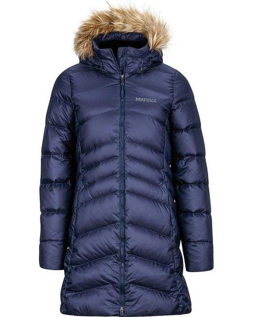 Marmot | Blue Wm's Montreal Coat | Lyst