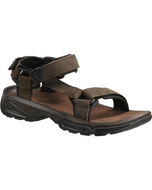 ef8d8c7b58ab Teva - Multicolor Terra Fi 4 Leather Sandal for Men - Lyst ...