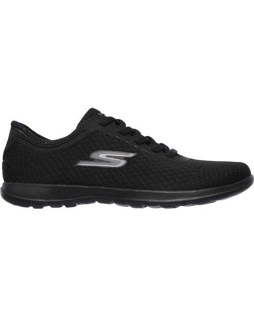 Lyst - Skechers Gowalk 4 Glorify Walking Shoe in Black - Save 7.8125% 93c86f0ae9a4b