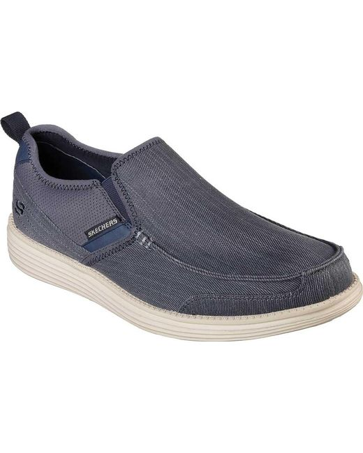 Skechers Relaxed Fit Status ... Delton Men's Loafers cprpC6