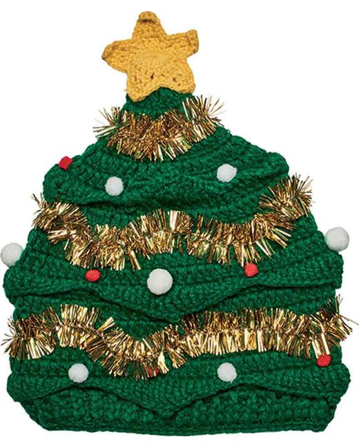 San Diego Hat Company - Green Christmas Tree Beanie Knh3446 - Lyst