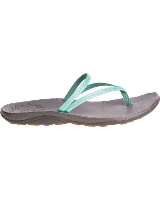 4ce94f972 ... Chaco - Multicolor Abbey Thong Sandal - Lyst ...