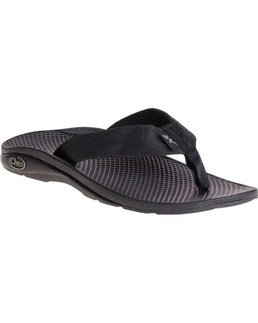 d2b057342853 Lyst - Chaco Flip Ecotreadtm in Black - Save 55%