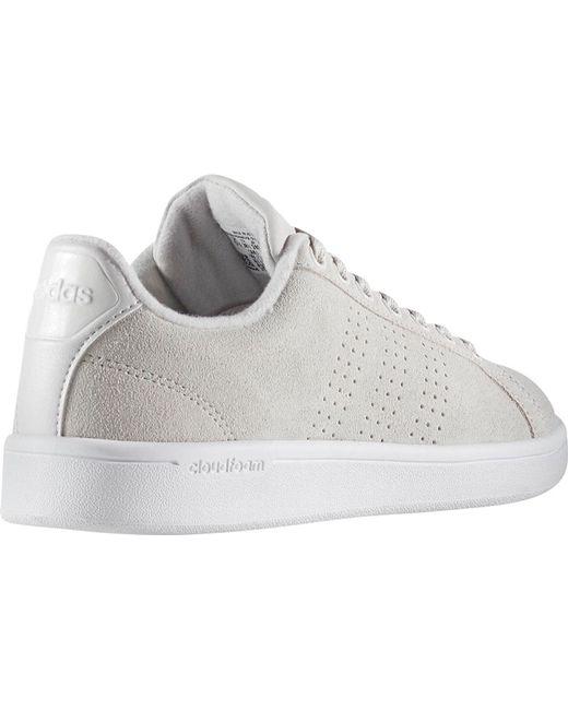 2fff59d38128 ... Adidas - Gray Neo Cloudfoam Advantage Clean Court Shoe - Lyst ...