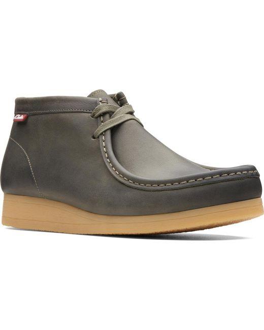 4e196c3f8762 Clarks - Green Stinson Hi Moc Toe Boot for Men - Lyst ...