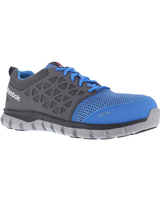 Reebok - Blue Sublite Cushion Rb044 Work Shoe - Lyst ... 261be0bdc