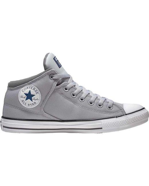 01375f3154ab Converse - Gray Chuck Taylor All Star High Street Uniform Mid - Lyst ...